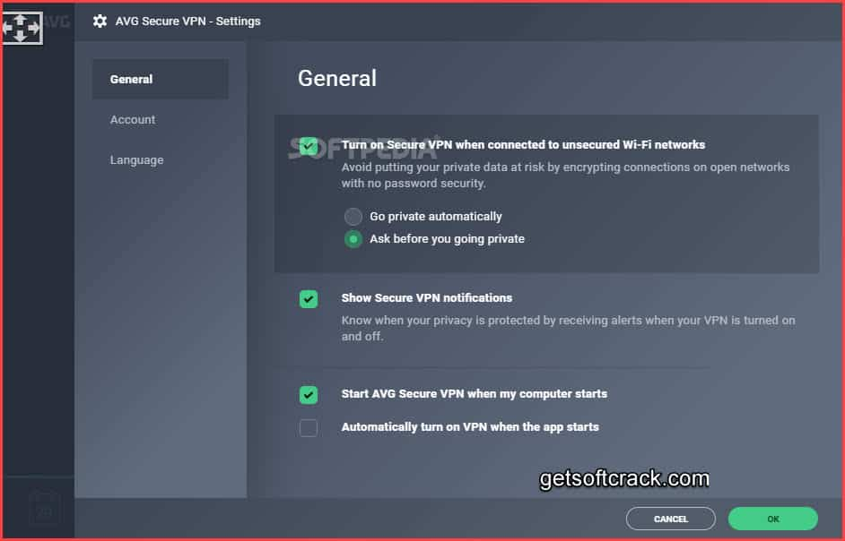 AVG Secure VPN 1.10.765 Crack And Key Free Download - Avg Secure Vpn Activation Code For Android